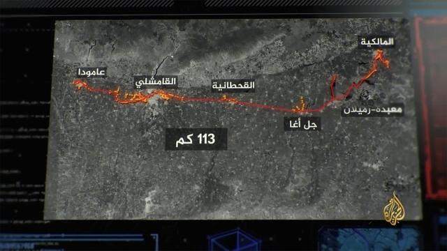 YPG/PKK'nın Türkiye sınırı hattında 113 kilometreyi bulan tüneller kazdığı ortaya çıktı