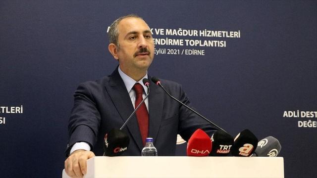 Adalet Bakanı Gül: Mağdurun özel hayatının korunması hakkı hiçbir suretle elinden alınmamalı