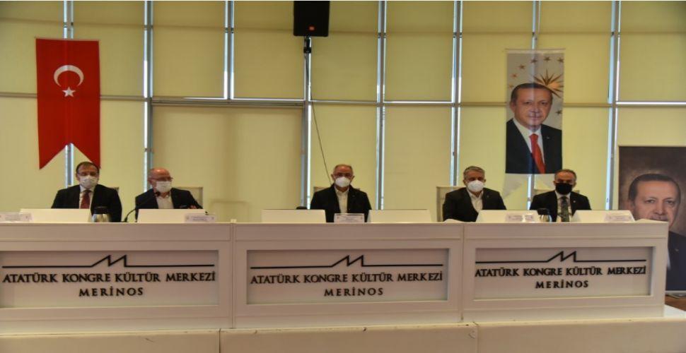 AK Parti Bursa'nın Geleceği İçin Biraraya Geldi