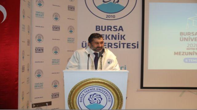 Bursa Teknik Üniversitesi'nde mezuniyet heyecanı