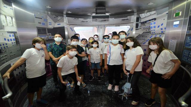 Dünya Uzay Haftası GUHEM'de kutlandı