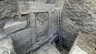 Alexandria Troas'da 2 bin 200 yıllık çarşının iki kapısına ulaşıldı