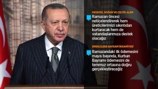 Cumhurbaşkanı Erdoğan'dan salgınla ilgili önemli açıklamalar