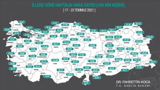 Kovid-19 vaka sayısı üç büyükşehirde de arttı