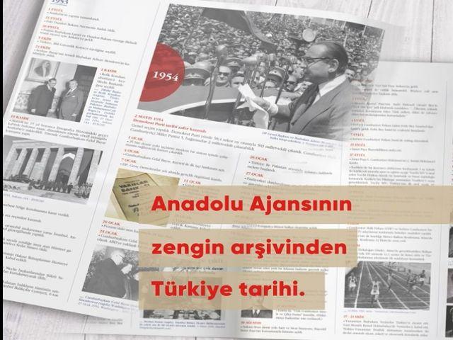 """Anadolu Ajansı'ndan """"100 Yıllık Türkiye"""" kitabı"""