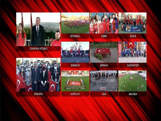 Türkiye saat 19:19'da tek yürek oldu